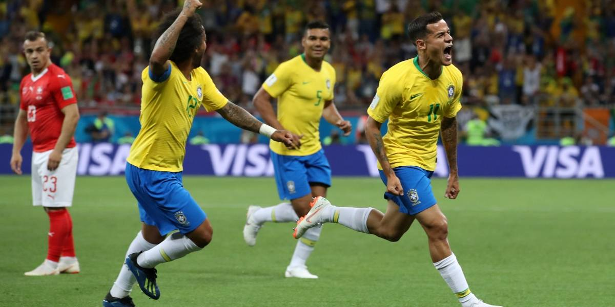 Copa do Mundo: veja os gols e melhores momentos do jogo Brasil x Suíça