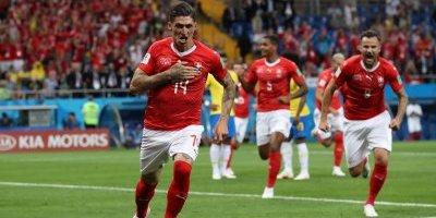 gol suiça brasil