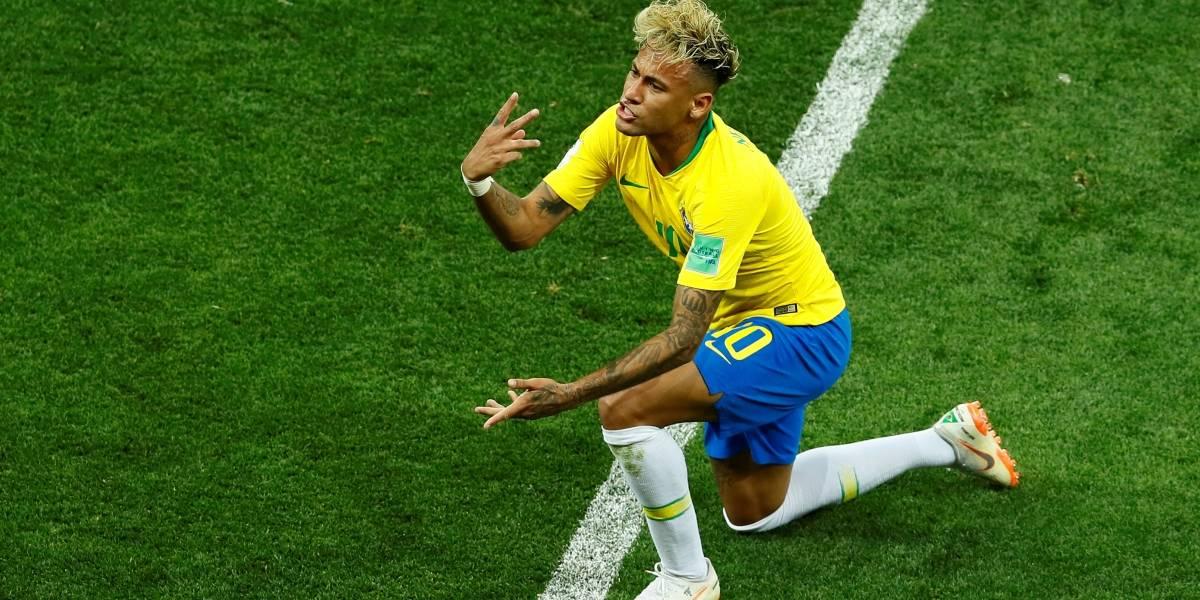 FOTOS: Neymar caindo em campo foi uma das cenas mais marcantes da partida