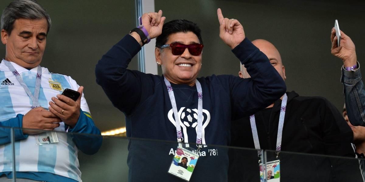 FIFA responde a declaraciones de Maradona sobre arbitraje en Colombia vs Inglaterra