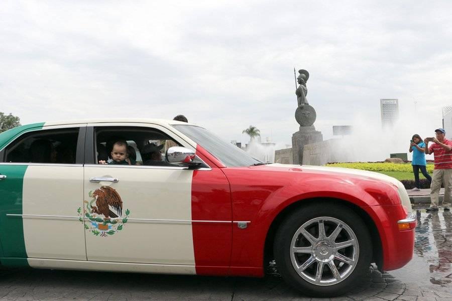 Este coche, que formaba parte de la exhibición en La Minerva, fue celebrado por los asistentes. FOTO: Héctor Escamilla