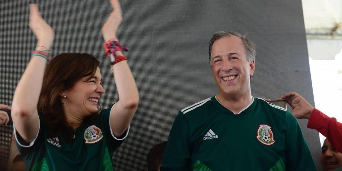 Candidatos presidenciales motivan a la Selección Mexicana