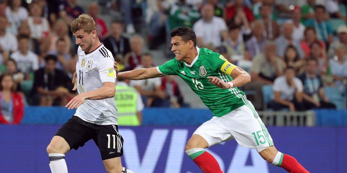 ¡Partido de escándalo! El campeón Alemania prueba a la agitada México