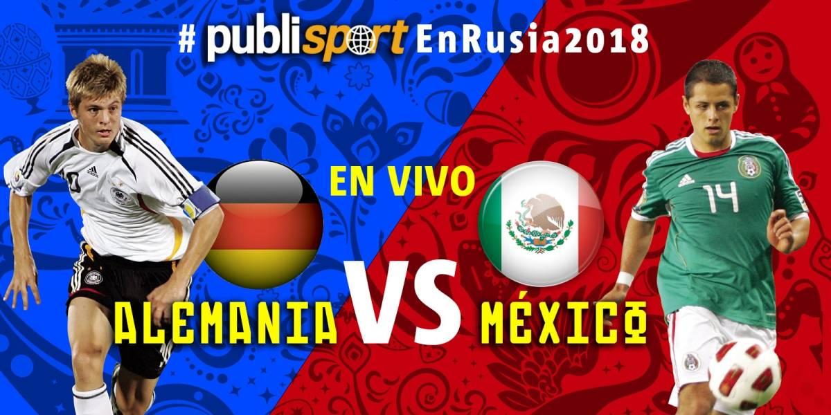 México logra triunfo histórico ante Alemania en Rusia 2018