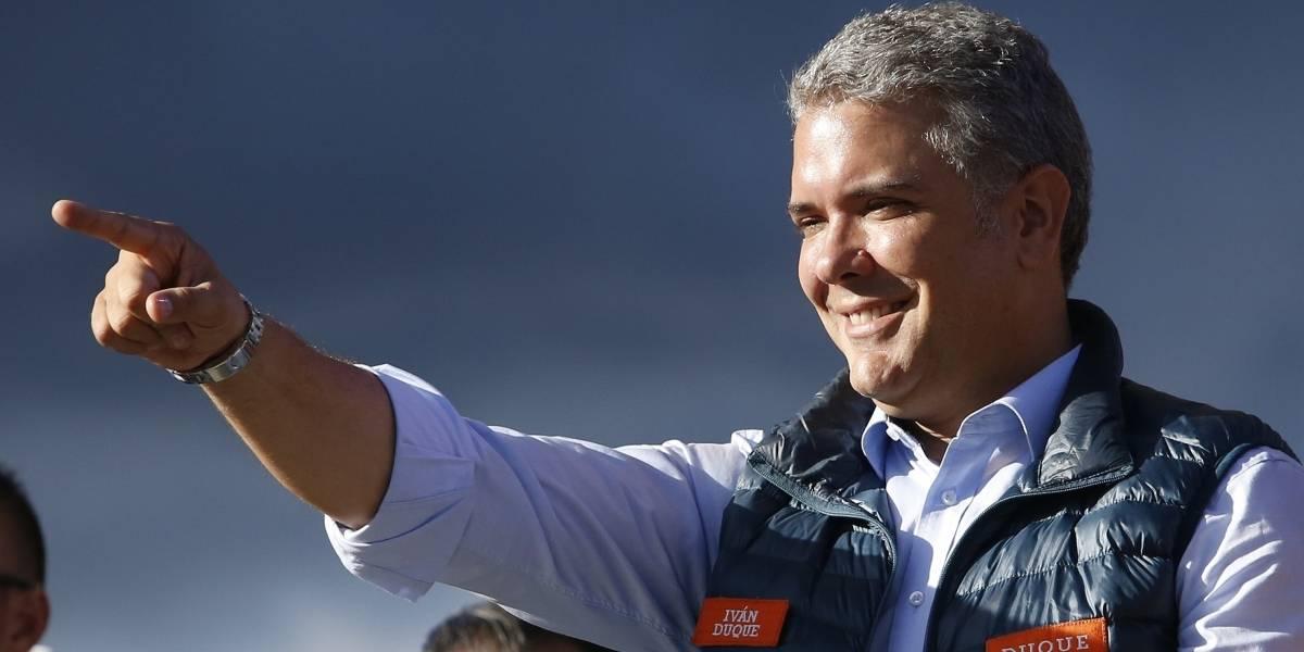El conservador Iván Duque es elegido como presidente de Colombia