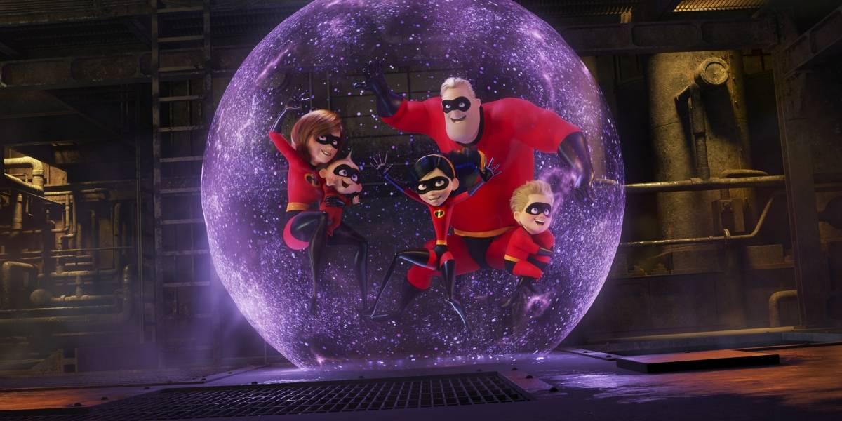 """""""Incredibles 2"""" rompe récord de películas animadas"""