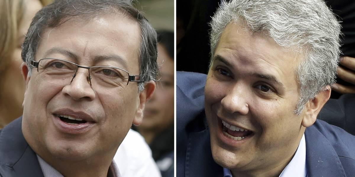Dos candidatos radicalmente opuestos se disputan la presidencia de Colombia