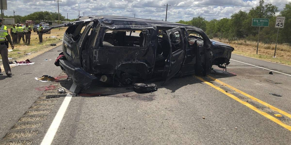 Cinco muertos tras persecución en el sur de Texas
