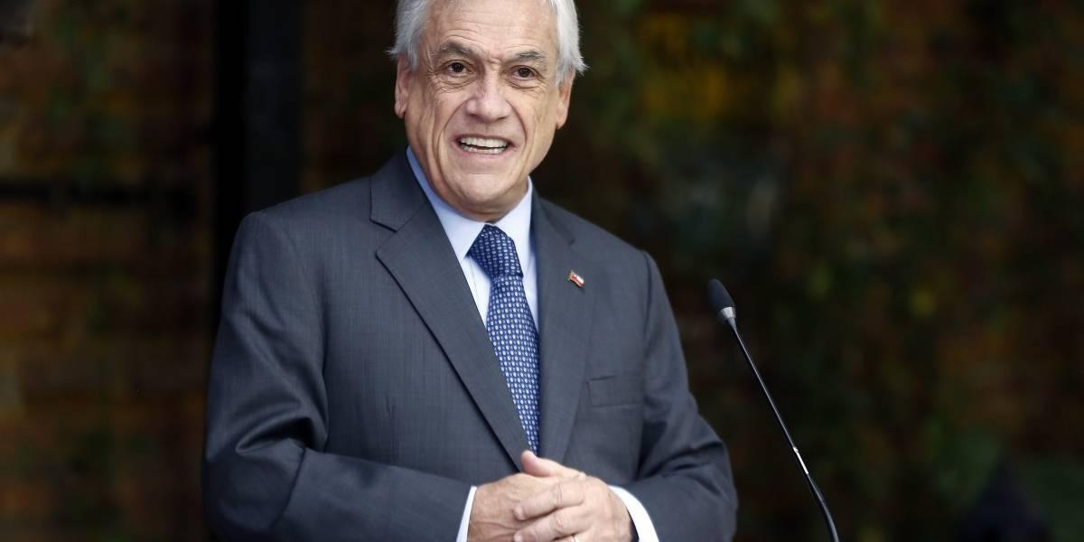 """Piñera por eventual paro de Gendarmería: """"Nadie puede protestar porque está funcionando un estado de derecho"""""""