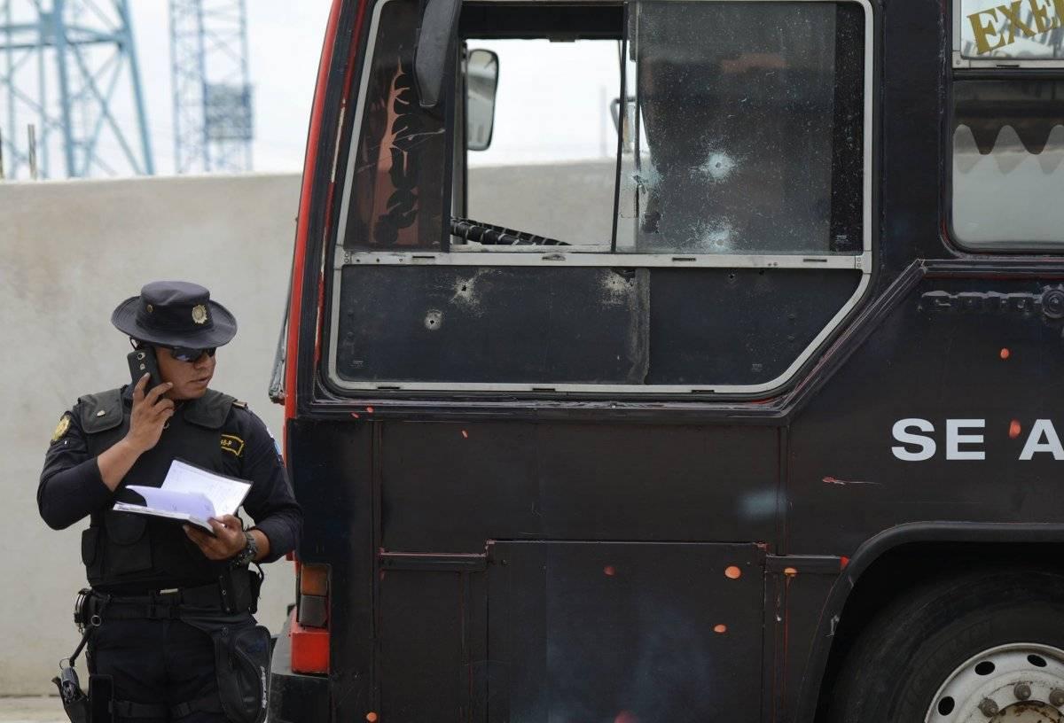 Ataque a piloto en Mixco