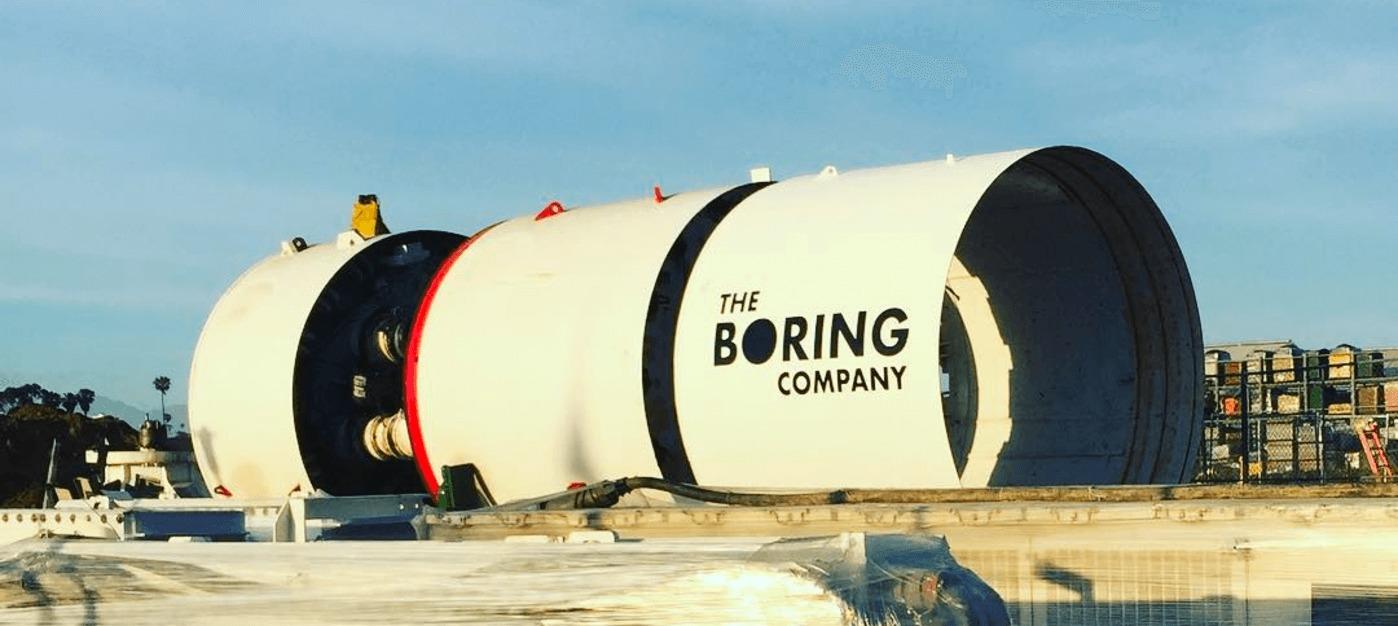 The Boring Company de Elon Musk hace una prueba de cómo funcionarán sus túneles de alta velocidad