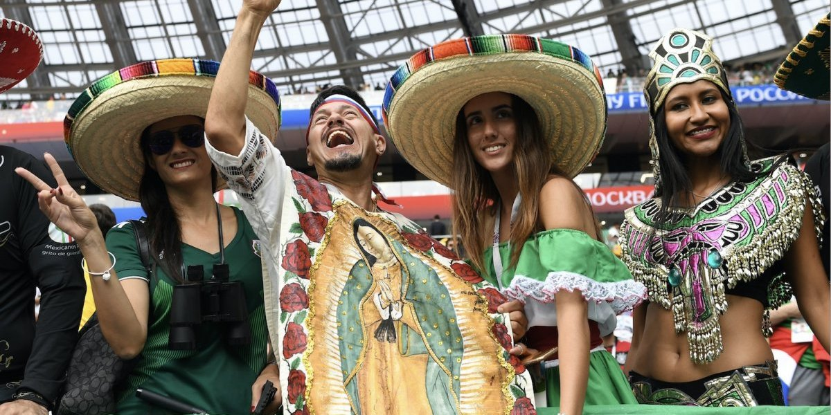 Las fanáticas que acapararon la atención en el partido Alemania- México