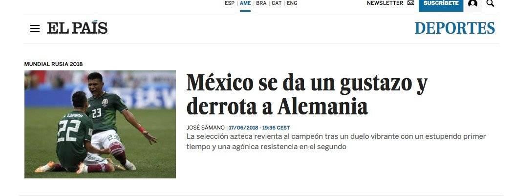 Diario español El País