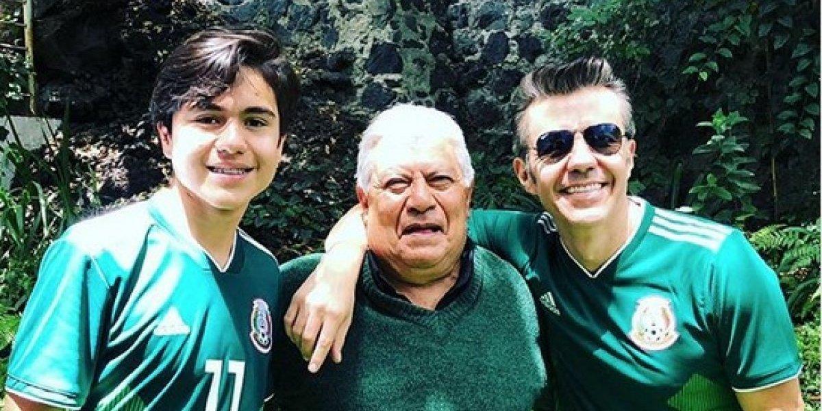 ¡A todo padre! Famosos celebran su día entre la familia y el mundial