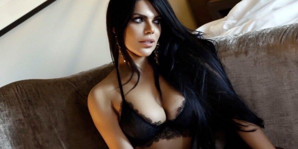La sensual, provocativa y casi censurable fotografía de Suzy Cortez en apoyo a la selección de Brasil