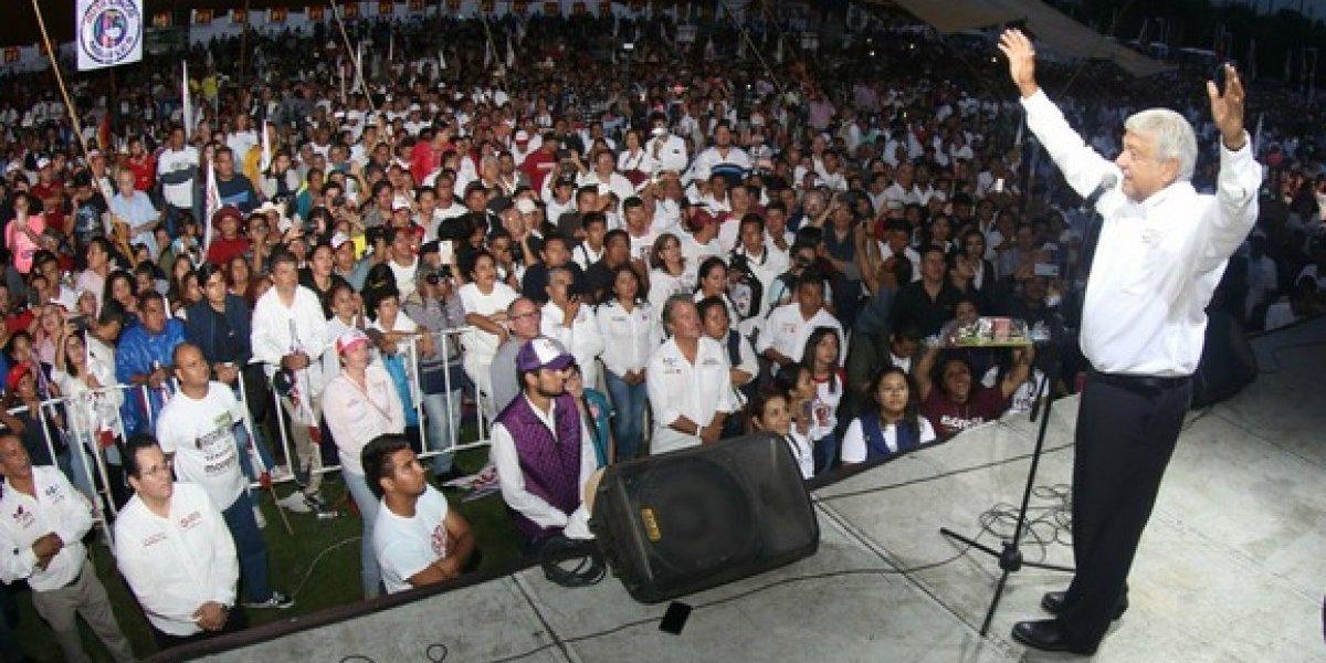 AMLO pide reunión con Peña Nieto en caso de ganar la elección