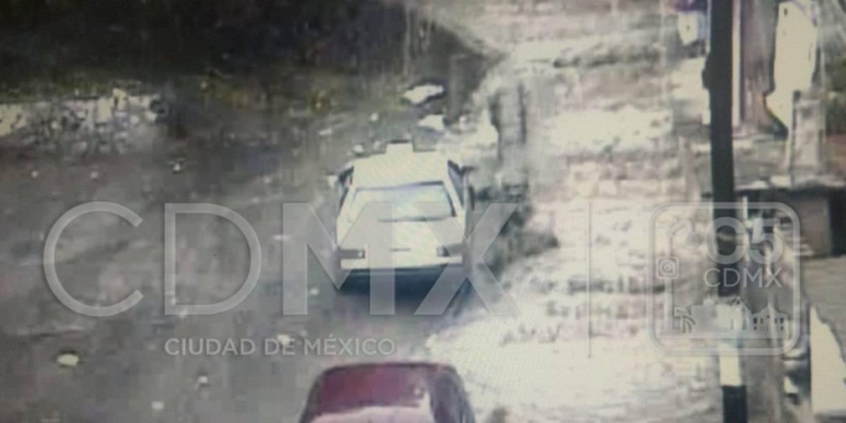 Se registra granizo e inundaciones en Xochimilco