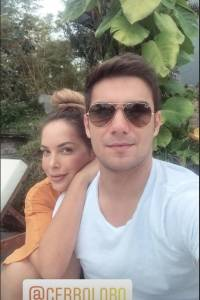 Érica Vélez y Carlos Scavone: Su amor desborda en las redes sociales