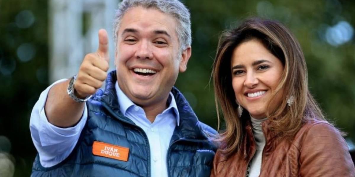 Ella es la nueva primera dama de Colombia