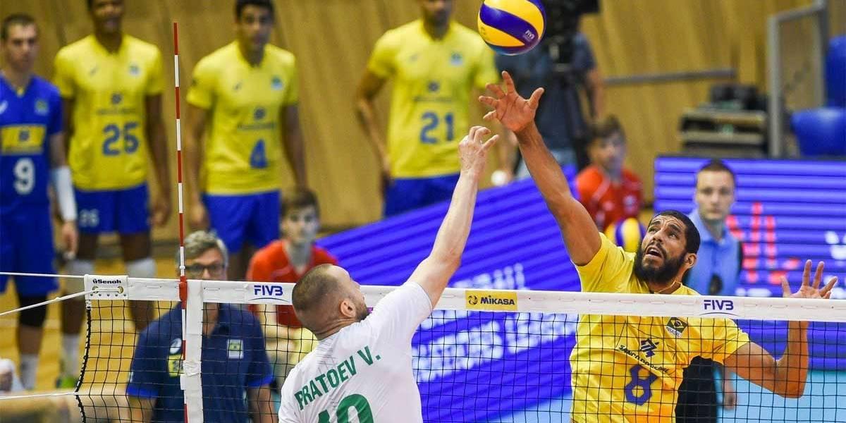 Seleção masculina perde no tie break e acumula quarta derrota na Liga das Nações