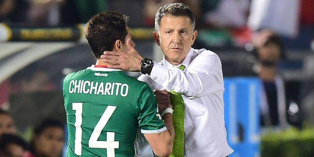 """""""El Chicharito"""" hace una importante revelación antes de jugar ante Alemania"""