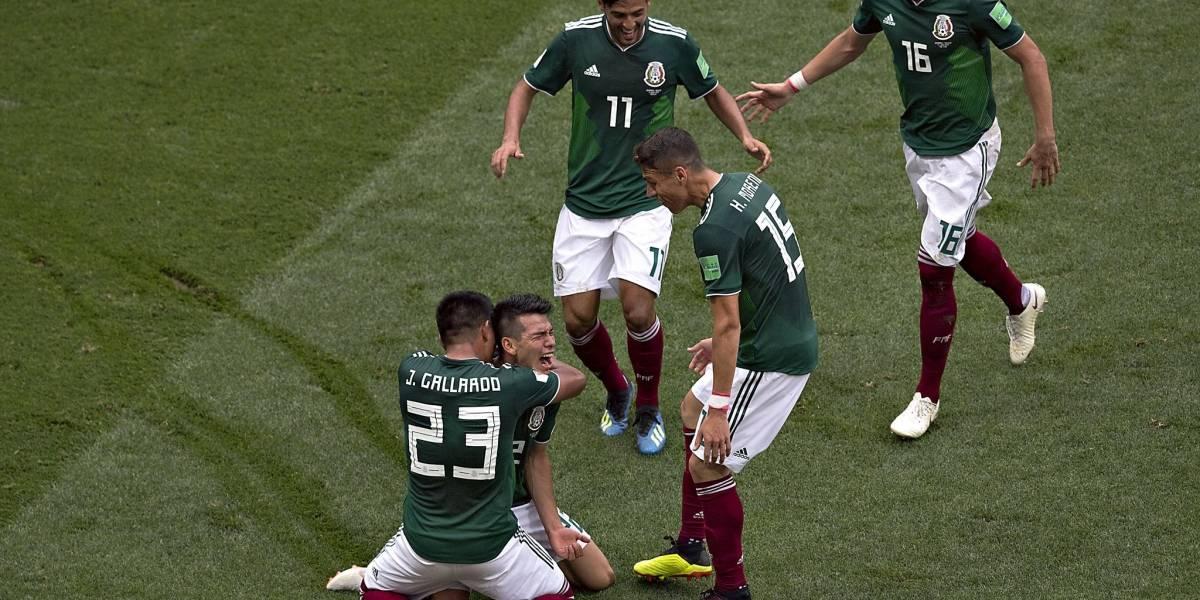 ¡Viva México cabrones! El Tri da el primer batacazo en el Mundial al vencer a Alemania