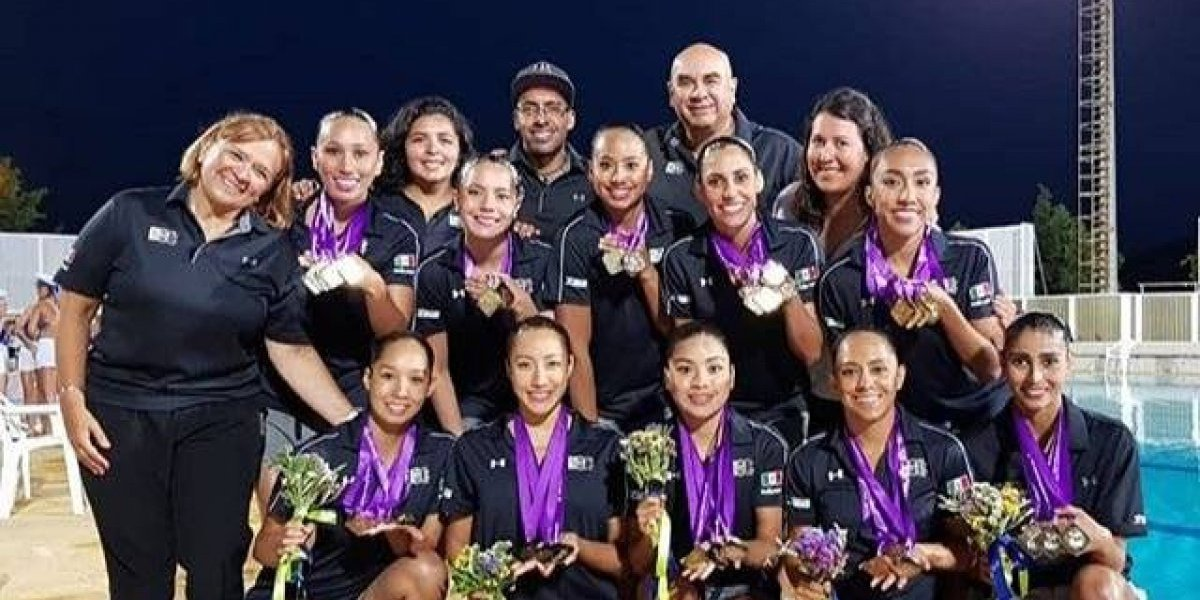 Sirenas mexicanas ganan siete oros en Serie Mundial