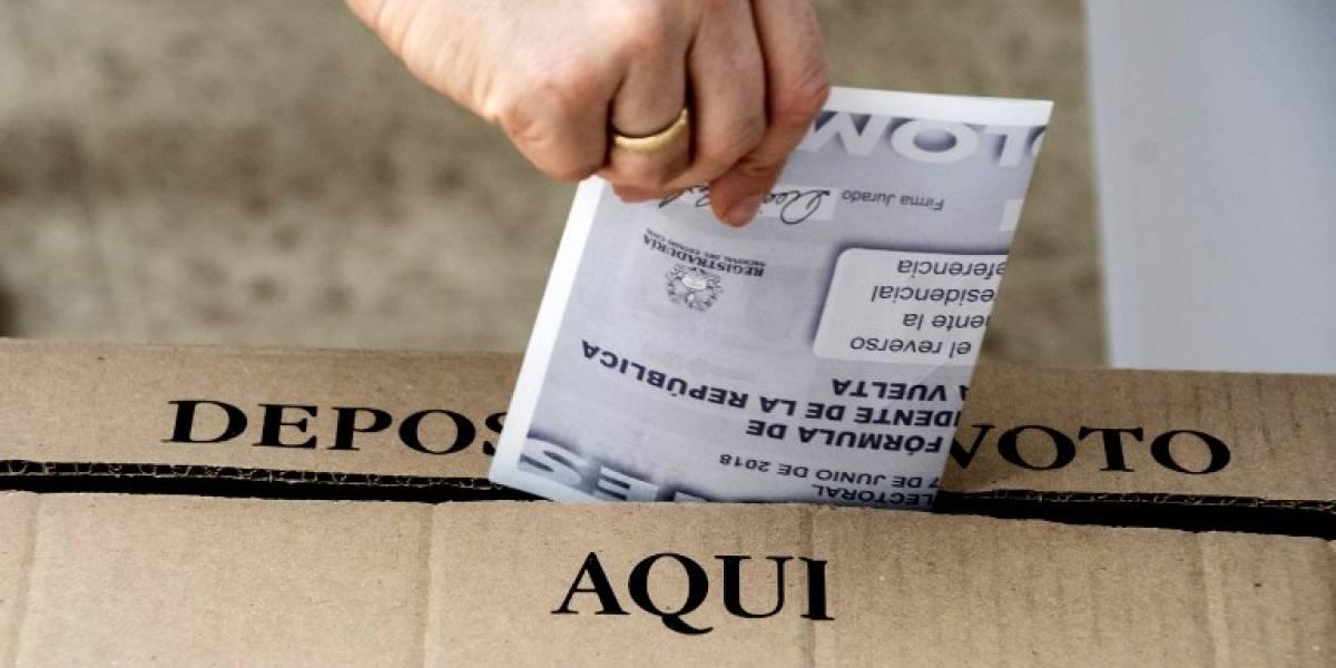 Colombia eligió por primera vez presidente entre derecha e izquierda