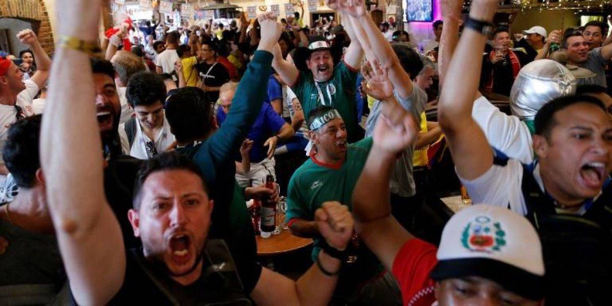 Festejos por gol de México en el Mundial provocan sismo en el D. F