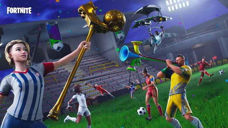 Así es como Fortnite se adaptó al Mundial de Fútbol Rusia 2018