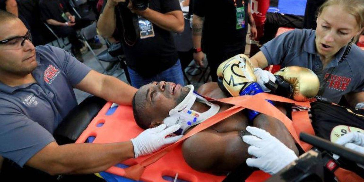 Javier Fortuna sufre accidente en pelea ante Adrián Granados