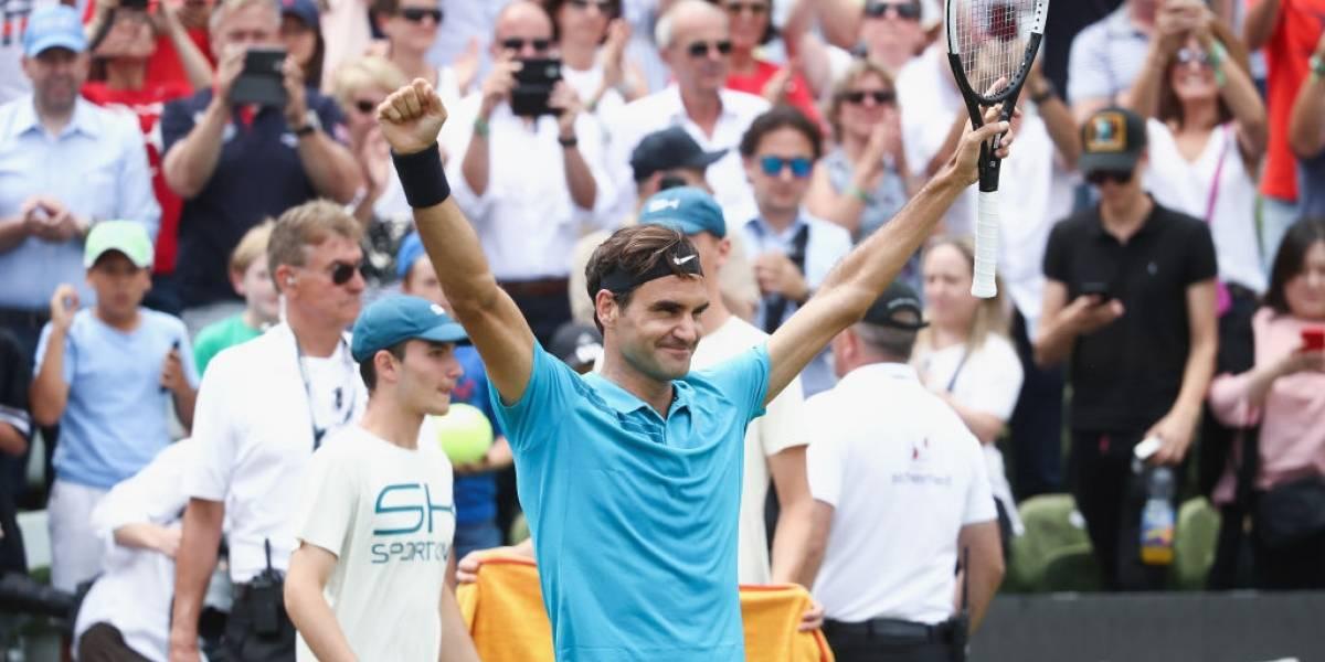 Roger Federer se coronó campeón en Stuttgart y aseguró su regreso a la cima de la ATP