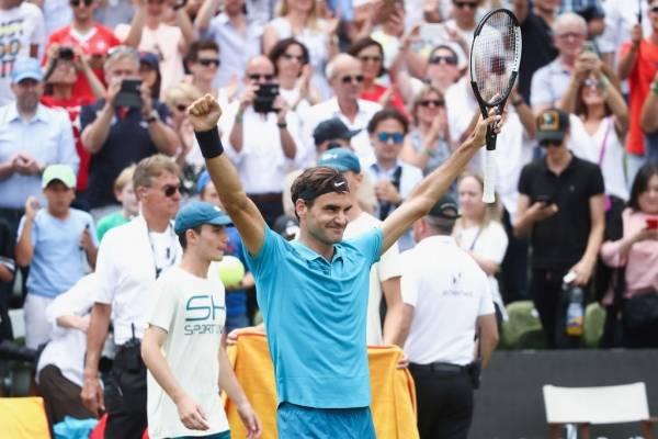 Federer comienza con el pie derecho en Torneo de Halle