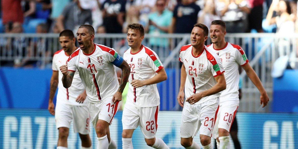 Serbia vs. Suiza, partido clave en el grupo E