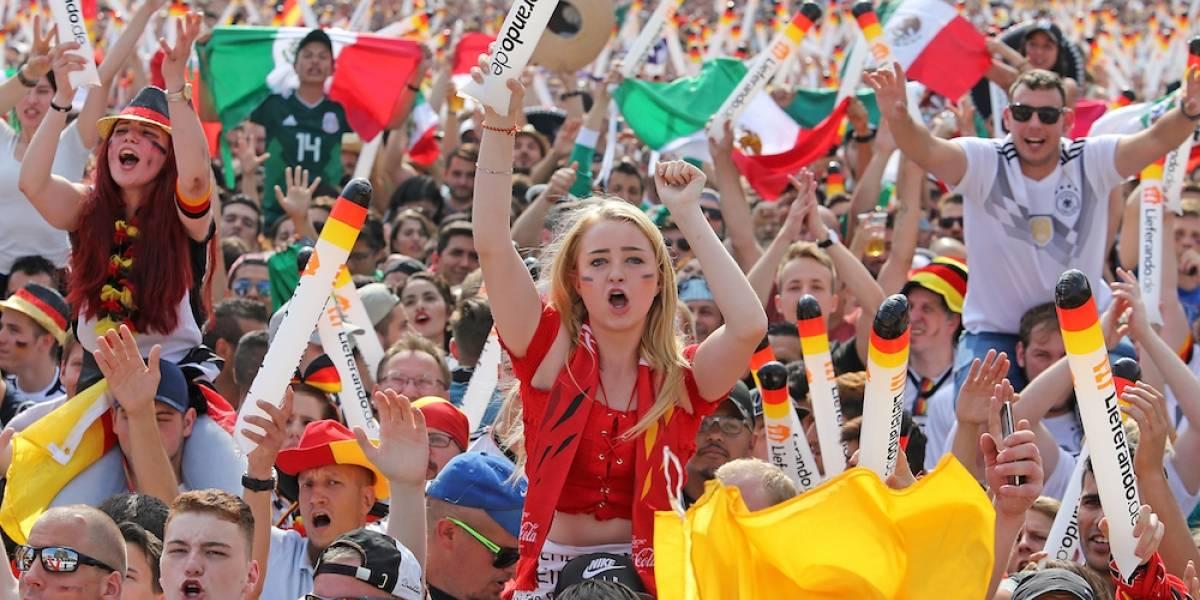 Las bellezas del duelo entre Alemania y México