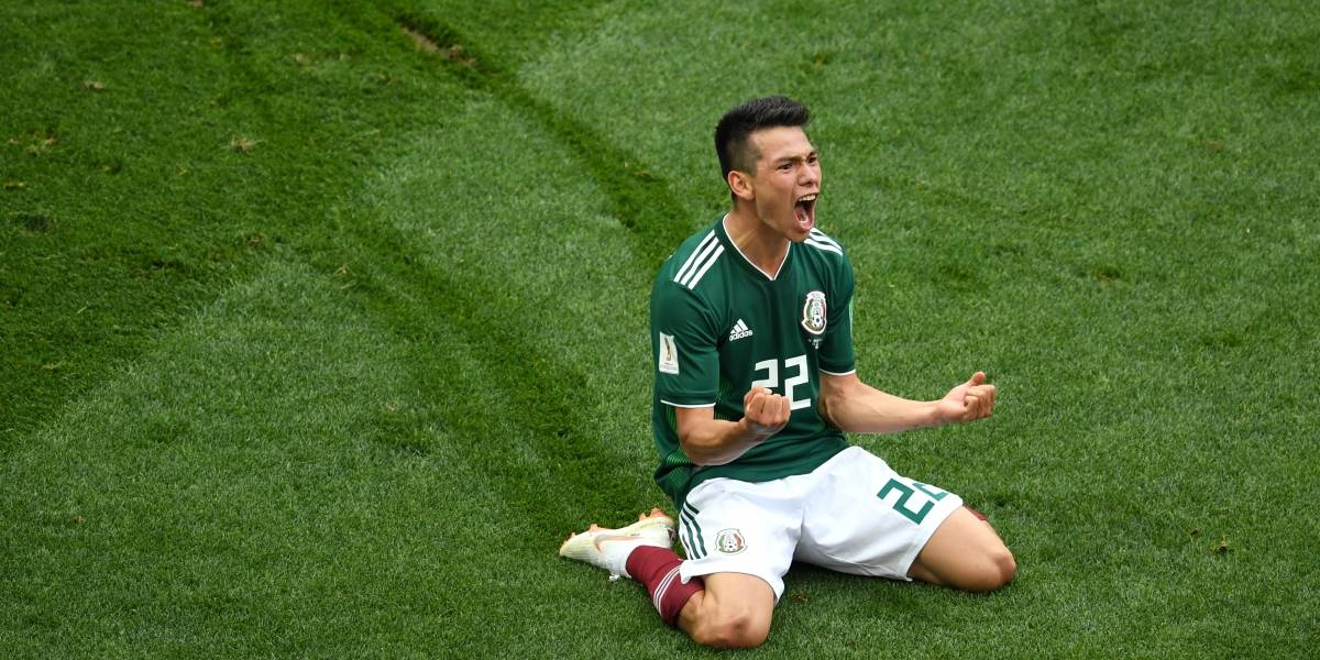 Locura total en el DF: El gol de Hirving Lozano generó un sismo en Ciudad de México