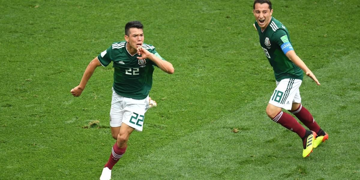 Victoria histórica para México sobre Alemania en Rusia 2018