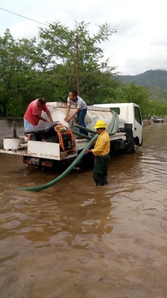 Inundaciones por la lluvia