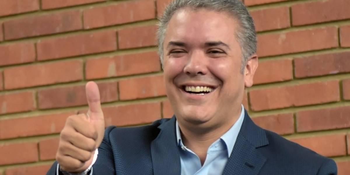 Derechista Iván Duque es elegido nuevo presidente de Colombia