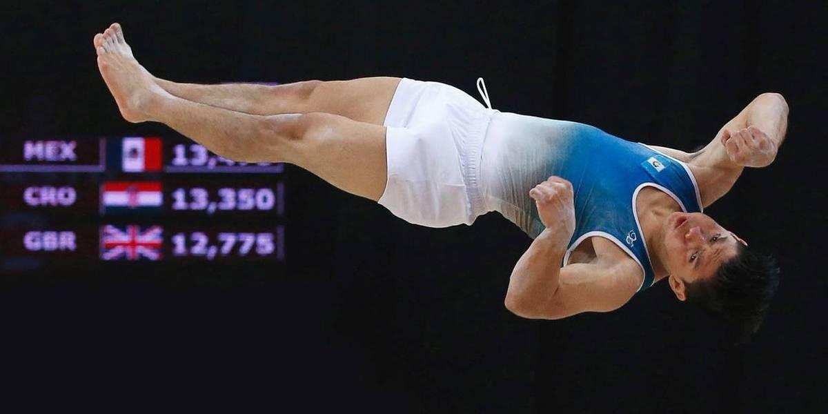 ¡Por Guatemala! Vega se cuelga la medalla de plata en la final de salto al potro
