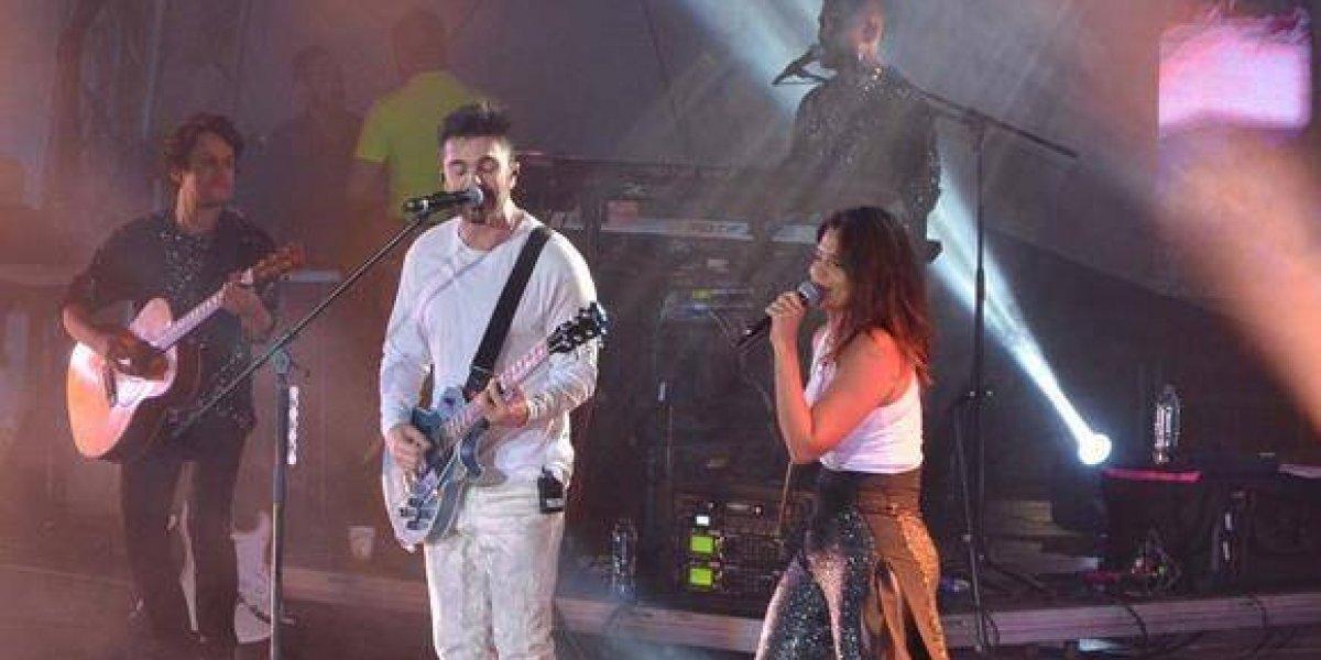 Juanes con buena actuación en Puerto Plata