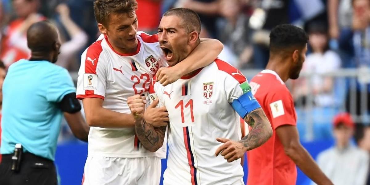 Con una proeza de Kolarov Serbia se impone a una deslucida Costa Rica