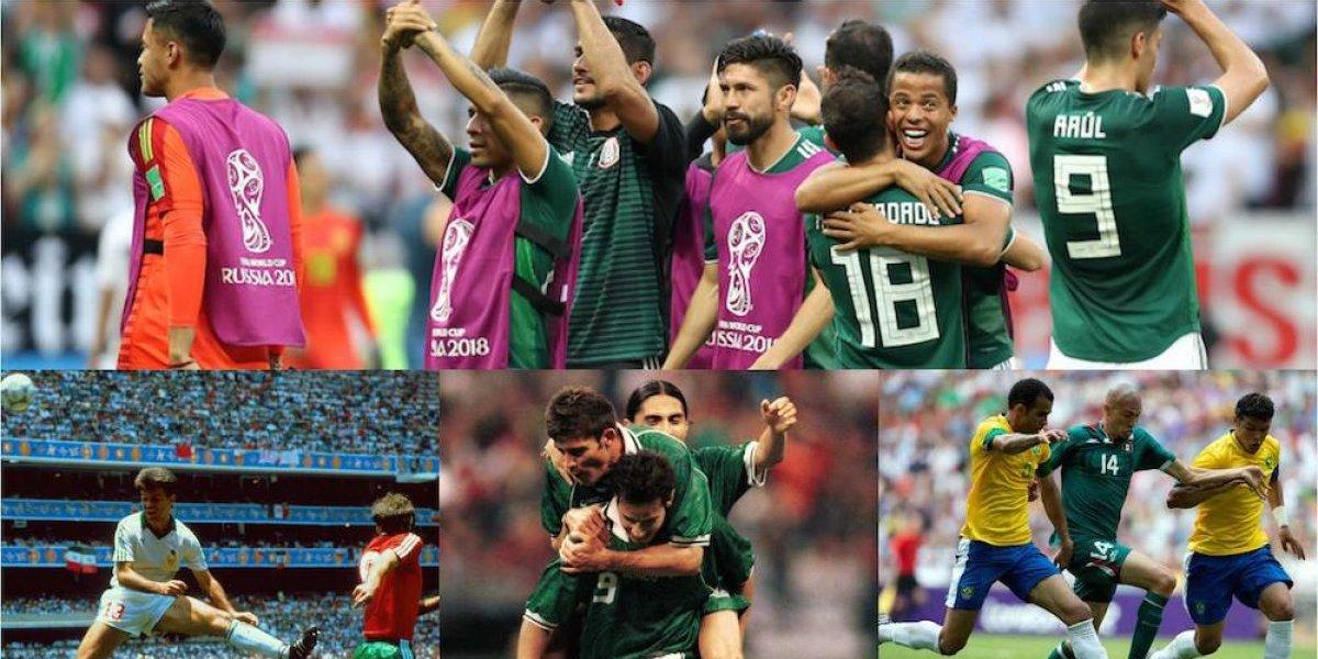 Los 5 partidos más importantes en la historia de la selección Mexicana