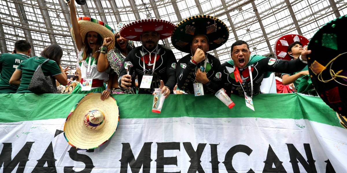 'Eh puto' aparece en Moscú para el Alemania vs. México