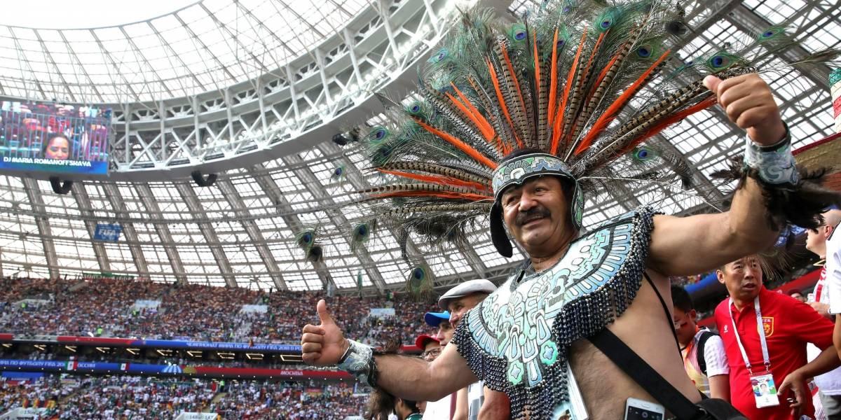 VIDEO: Así dieron colorido los mexicanos en Moscú
