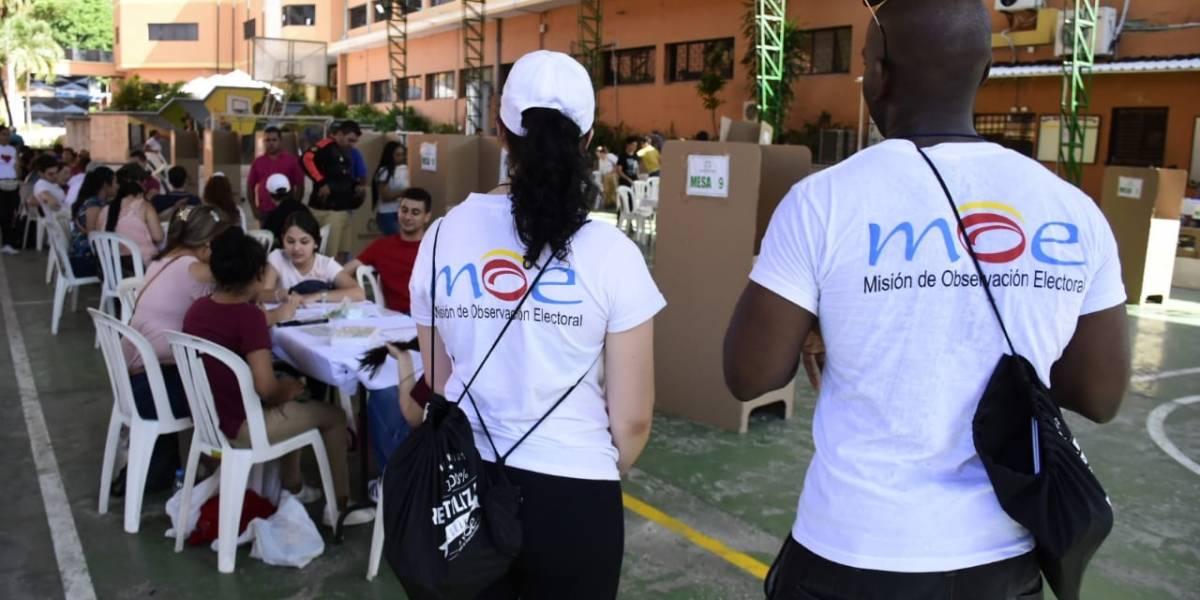 """En Barranquilla la MOE niega que estén usando """"bolígrafos borrables"""" en las elecciones"""
