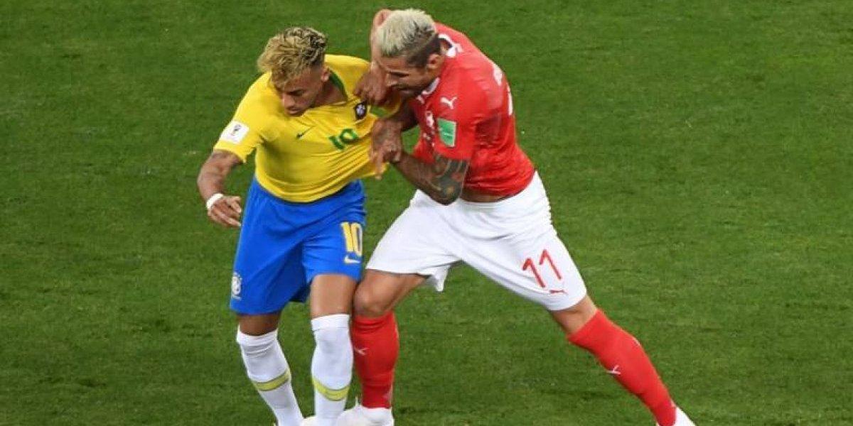 Suiza le empata a Brasil... ¿con un gol que tuvo que ser anulado?