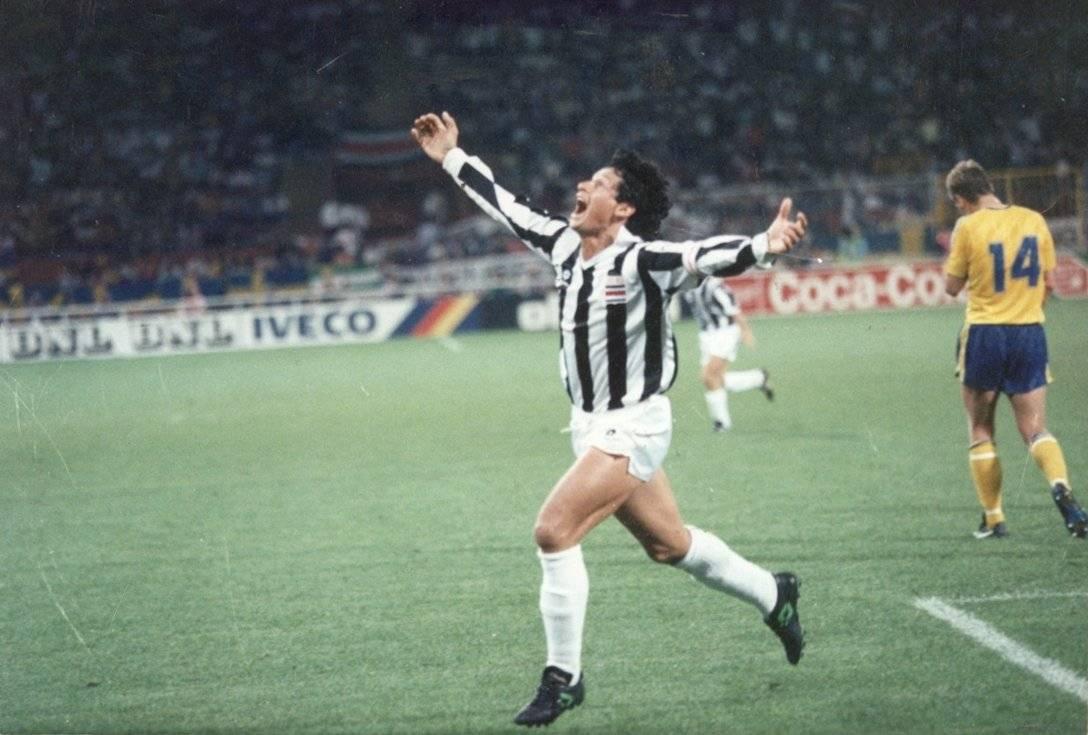 En Italia 1990 avanzaron a los octavos de final.