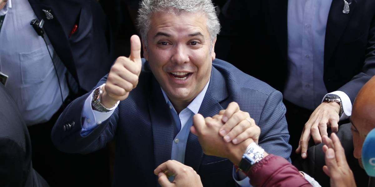El derechista Iván Duque se impone como el nuevo presidente de Colombia