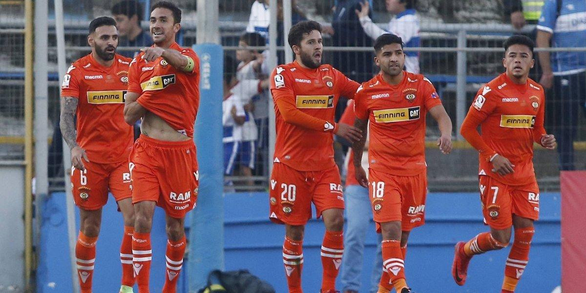La UC de Beñat sumó su primer fracaso y  no pudo ante un atribulado Cobreloa que reverdeció laureles en la Copa Chile